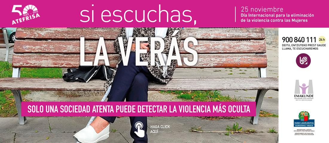 Día eliminación maltrato mujeres